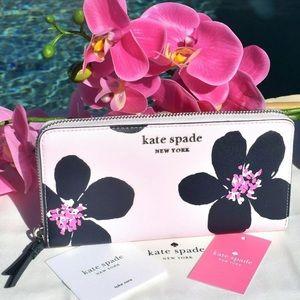 Kate Spade Cameron Grand Flora Large Wallet